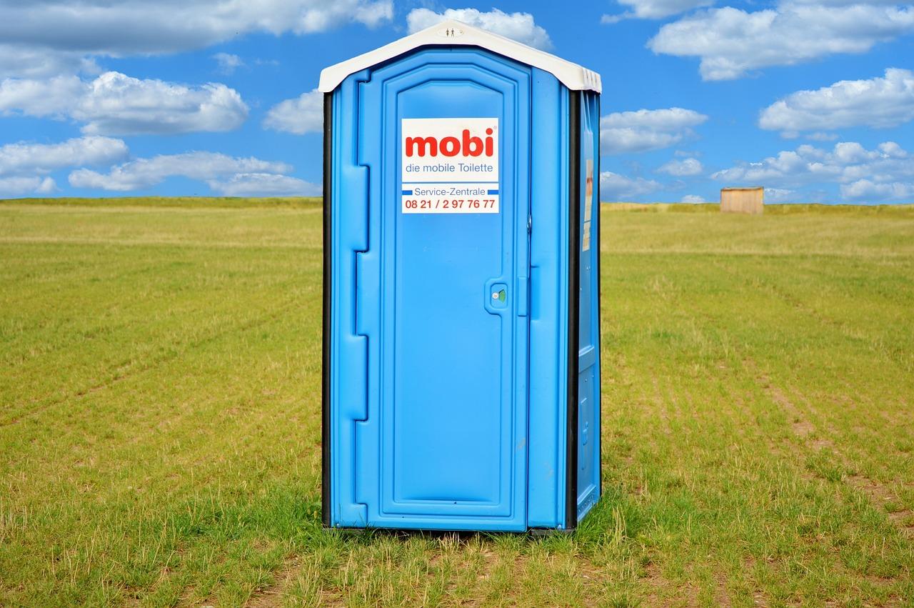 Mobilní WC je tady