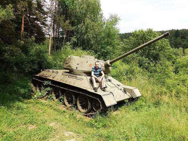 bojový tank
