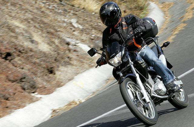 motorka cesta