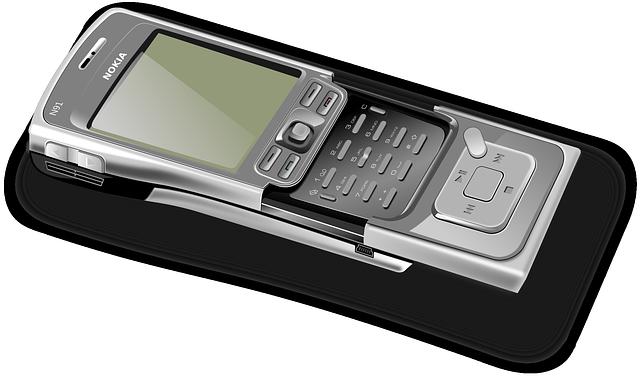 Tlačítkový mobil